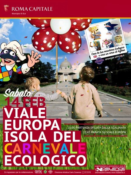Carnevale Ecologico IX Municipio Roma